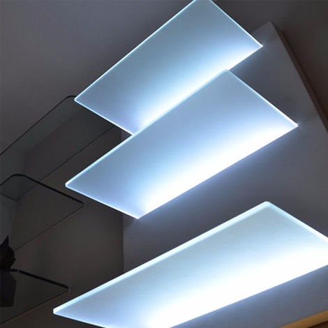 Lighted Shelving